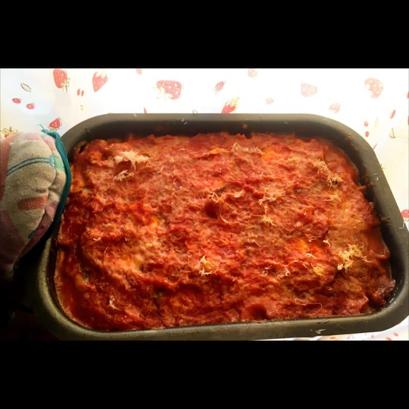 Parmigiana light di zucchine