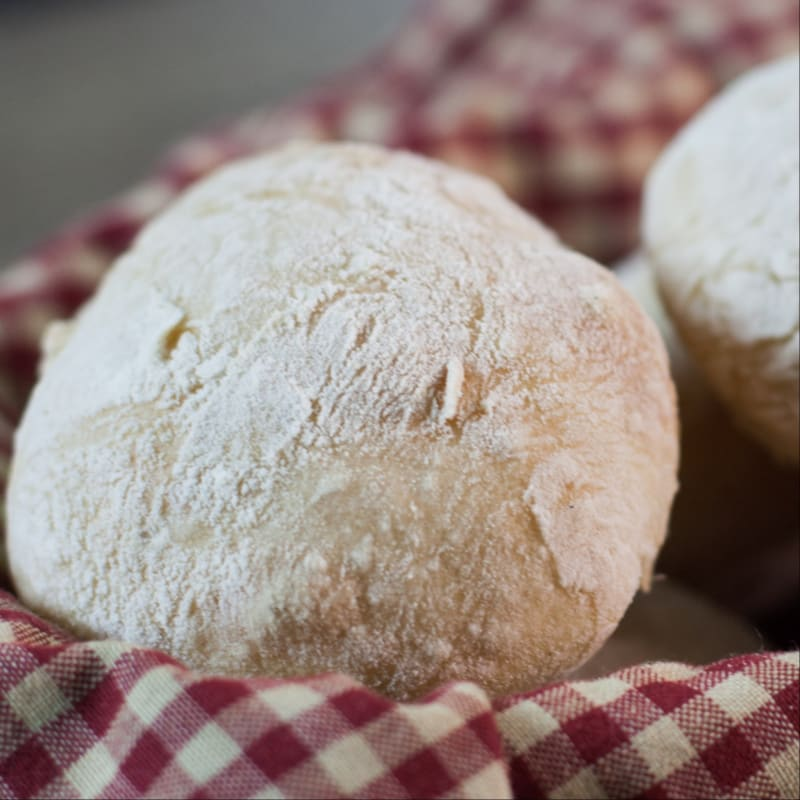 Breaded bread rolls!