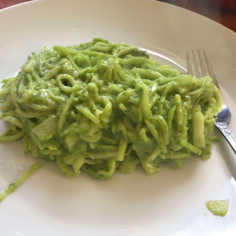 Salsa pesto vegana