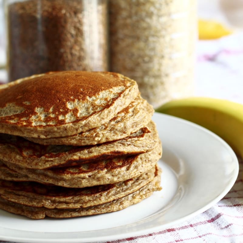 Pancakes alla banana fit