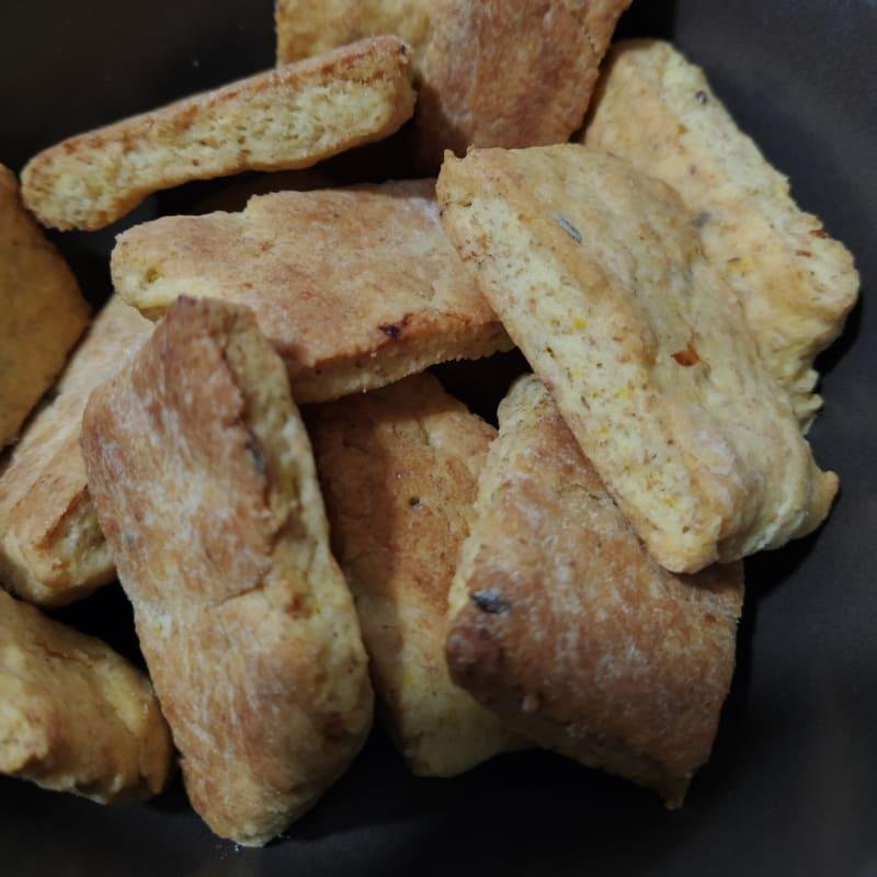Orange biscuits
