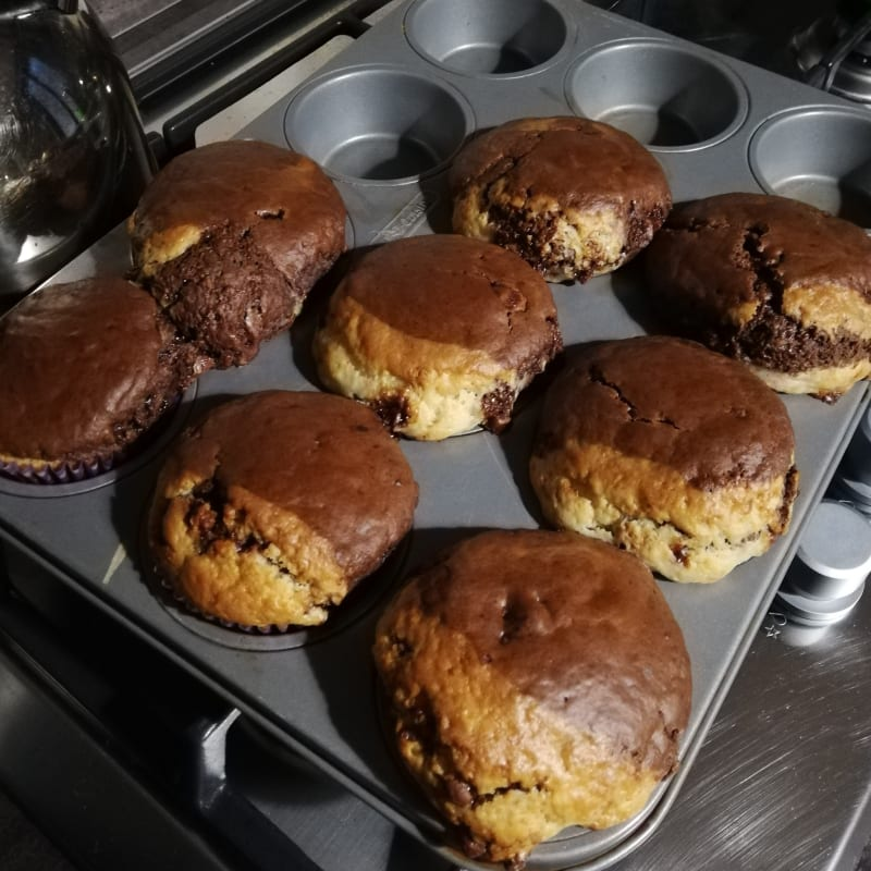 Marbled American Muffins