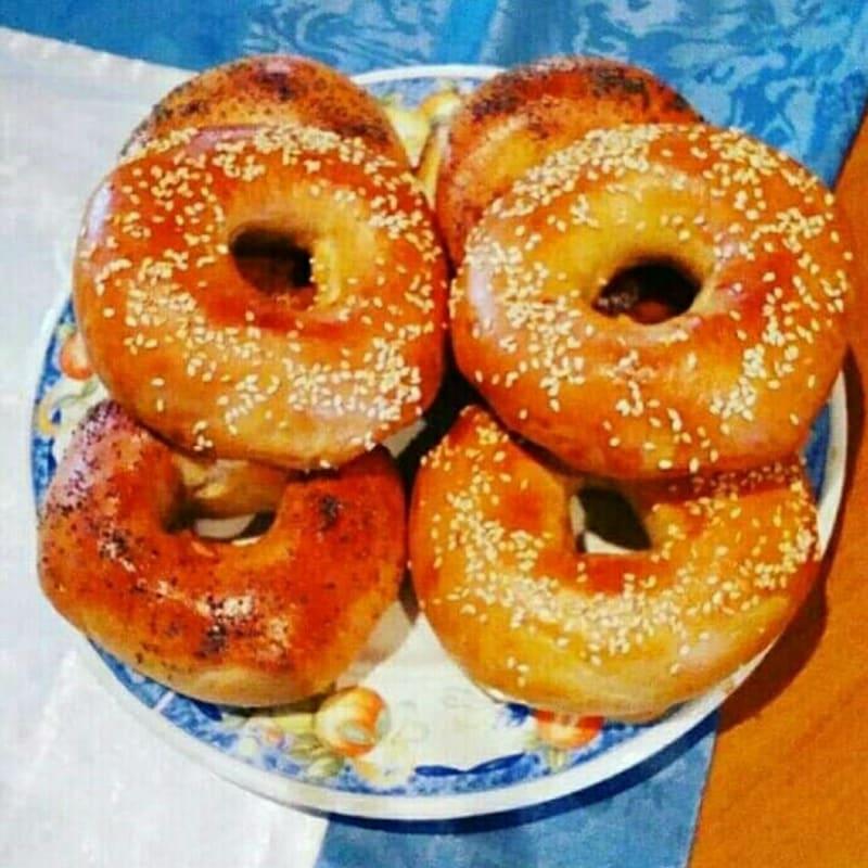 Jewish bagel