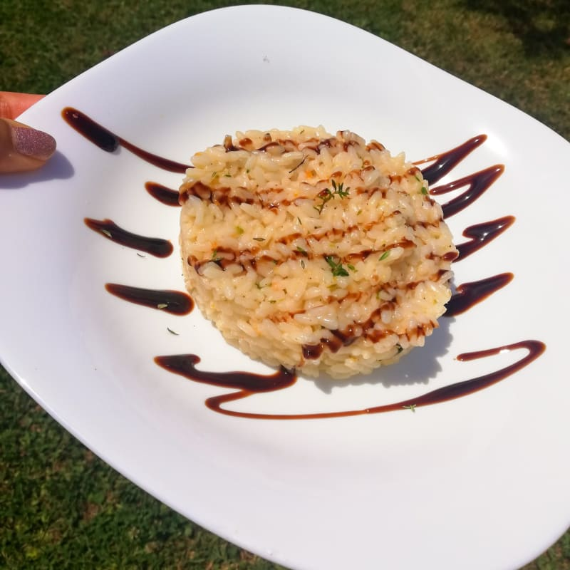 Thyme and lemon risotto