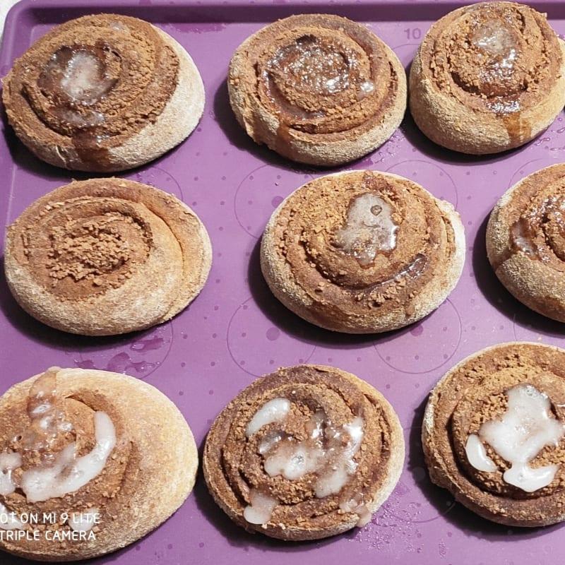 Cinnamon rolls senza uova e burro