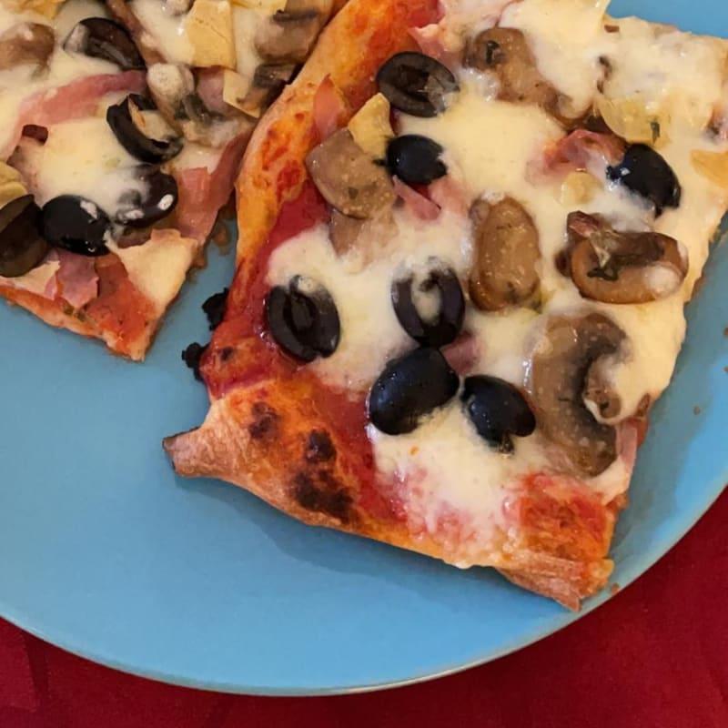 Bubble Pizza Capricciosa