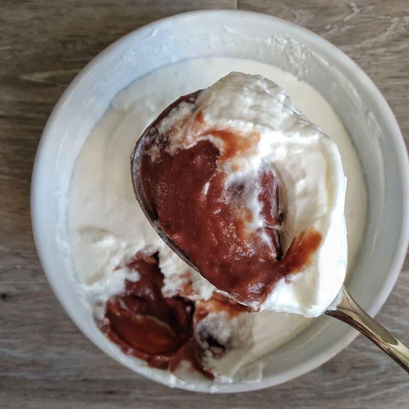 Budino di Riso con Yogurt greco senza lattosio