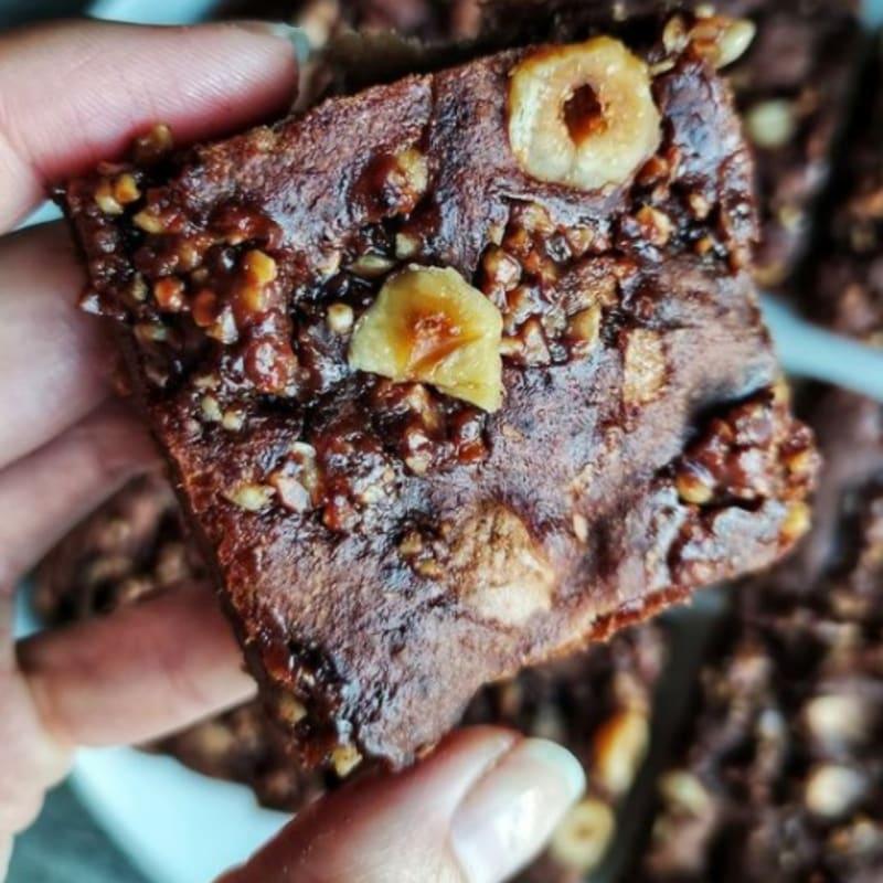 Banana And Chocolate Brownies