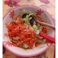 Foto preparazione Venus rice salad