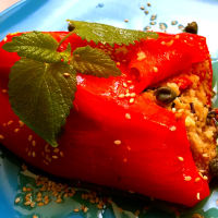 Ricetta correlata Couscous Stuffed Pepper