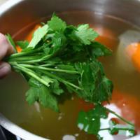 Foto preparazione Brodo vegetale speziato