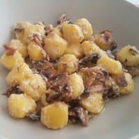 Ricetta correlata Gnocchi with mushrooms