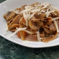 Ricetta correlata Tagliatelle with mushrooms