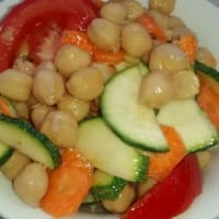 Ricetta correlata Salad of white chickpea