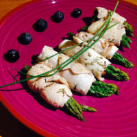 Ricetta correlata Rolls of sea bream and asparagini the grain