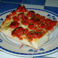 Ricetta correlata Focaccia with cherry tomatoes