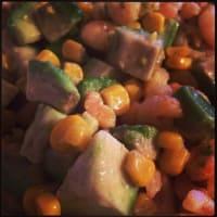 Ricetta correlata Salad with shrimp and avocado