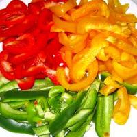 Foto preparazione Crema di peperoni e panna