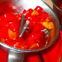 Foto preparazione Cream of peppers and cream