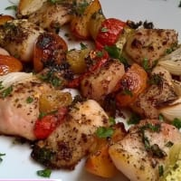 Ricetta correlata Skewers of fruit Fish