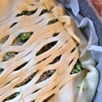 Foto preparazione Torta salata di pasta brisée