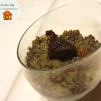 Ricetta correlata Tapioca pudding with poppy seeds, figs and lemon