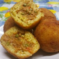 Ricetta correlata Sicilian Arancine with ragout of seitan
