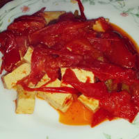 Ricetta correlata Tofu with peppers