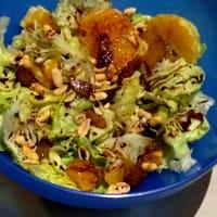 Foto preparazione bittersweet autumn salad