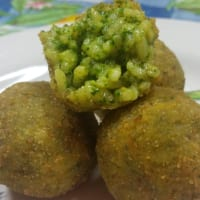Ricetta correlata Arancinette with arugula pesto