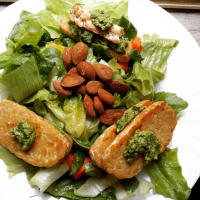 Ricetta correlata Tempeh with rocket and almond pesto