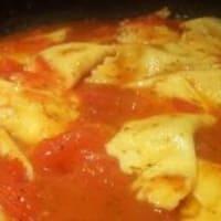 Foto preparazione Fazzoletti di pasta fresca