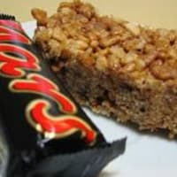 Ricetta correlata Dolce with puffed rice and mars