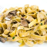 Ricetta correlata Pappardelle with mushrooms