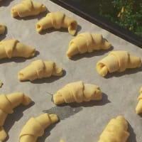 Foto preparazione Croissants with Nutella long rising