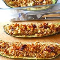 Ricetta correlata Zucchine vegetariane farcite al forno