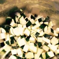 Foto preparazione Vellutata di zucchine e curry