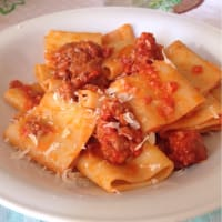 Ricetta correlata Paccheri with pink sauce