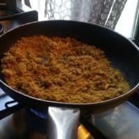 Foto preparazione Caserecce con pesto di pistacchi