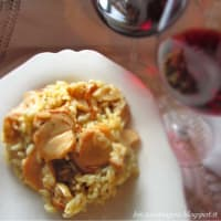 Ricetta correlata Risotto with fresh porcini mushrooms