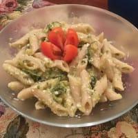 Ricetta correlata Pennette di kamut al pesto di zucchine