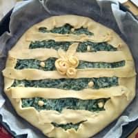 Foto preparazione Chique agli spinaci
