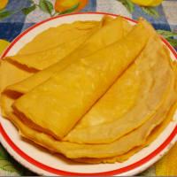 Ricetta correlata Crepes with chickpea flour