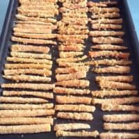 Foto preparazione Bastoncini di carote con impanatura croccante