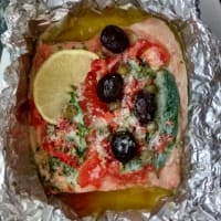 Ricetta correlata Trout baked in foil