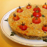 Ricetta correlata Cake quinoa and vegetables