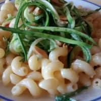 Ricetta correlata Carbonara con zucchine e mandorle