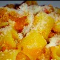 Ricetta correlata Rigatoni with pumpkin and cheese