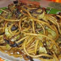 Ricetta correlata Wholemeal spaghetti roasted lettuce