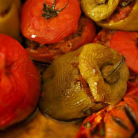 Ricetta correlata Peppers stuffed with tofu and ginger